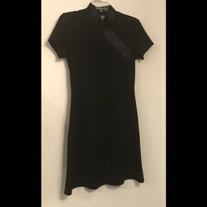 XOXO Medium Black Poly/Spandex Dress